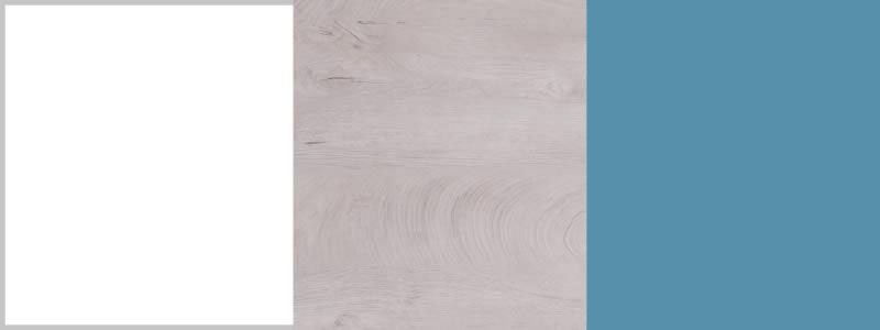 Meblar Detská izba Planet E Farba: biela/dub/morská