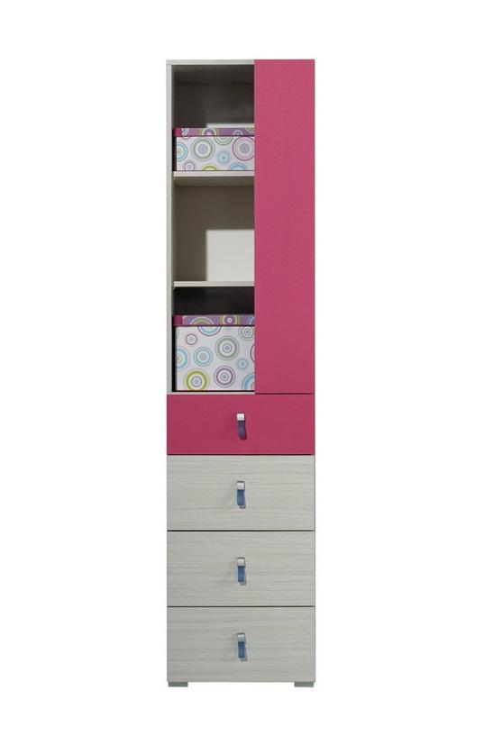 Meblar Skrinka Komi KM6 Farba: Ružová - skladová zásoba 1 ks