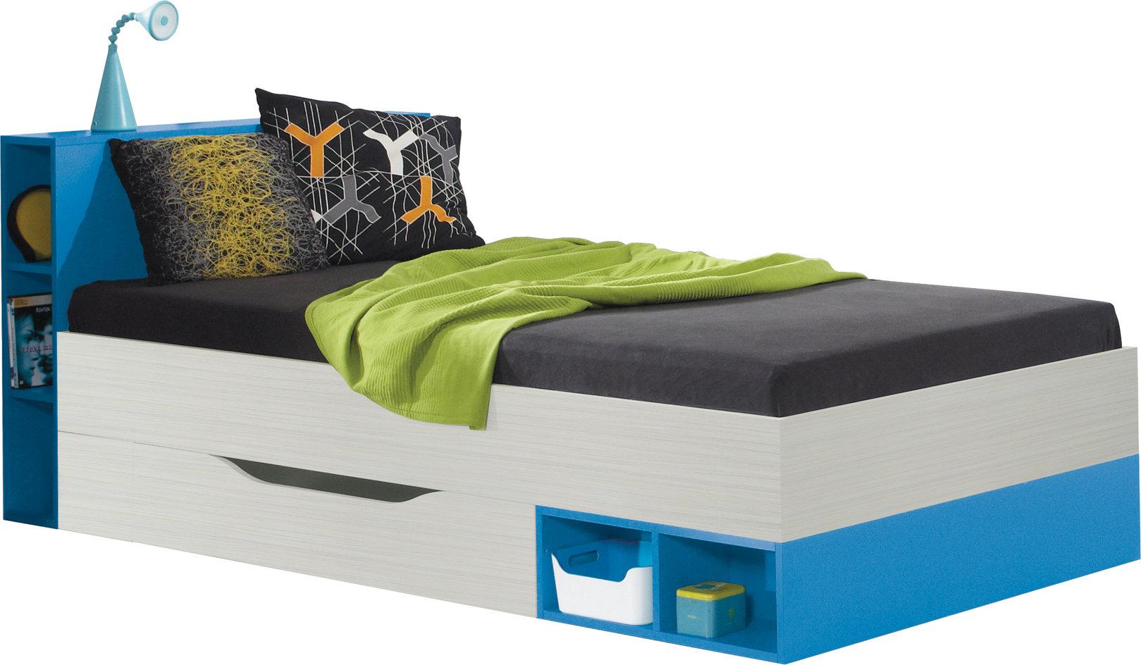 Meblar Detská posteľ Komi KM22 Farba: Modrá