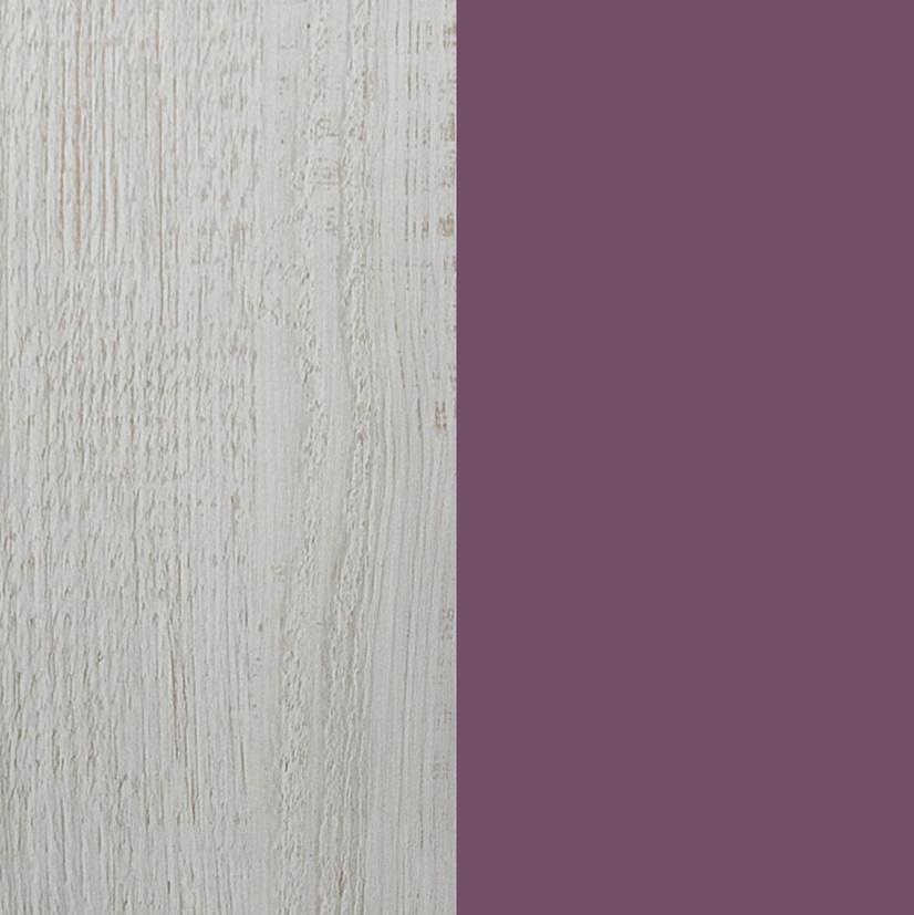 Meblar Rohová šatníková skriňa Next NX2 Farba: Fialová