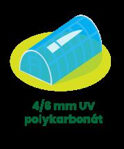 UV polykarbonát