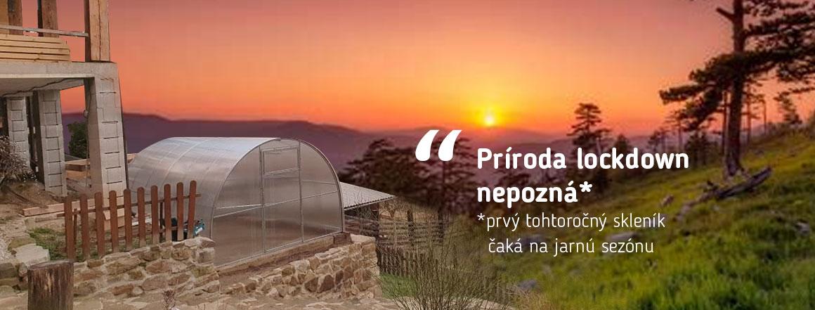 Prvý jarná skleník