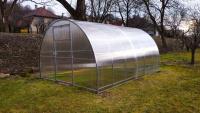 Realizácia skleník Triumf, 3x4 m