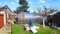 Realizácia skleník Kompakt, 2x4 m