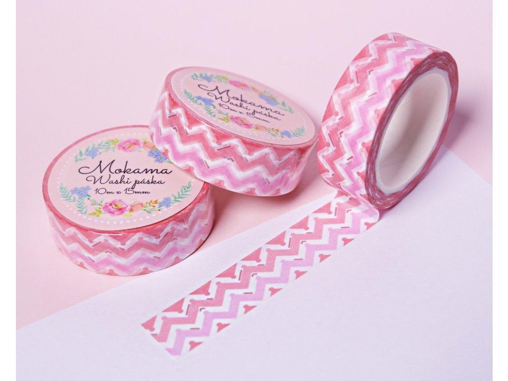 Sweet Pink Washi Páska