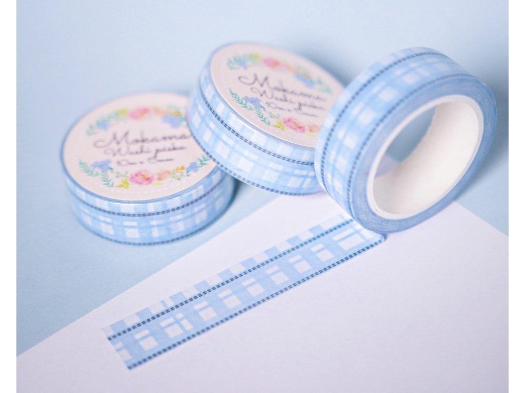 Bubble Blue Picnic Washi Páska
