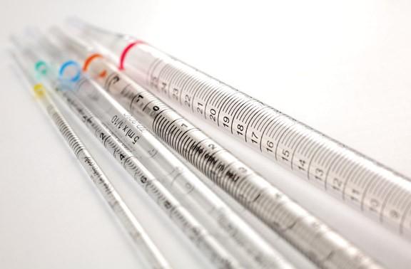 Sérologické a Pasteurove pipety