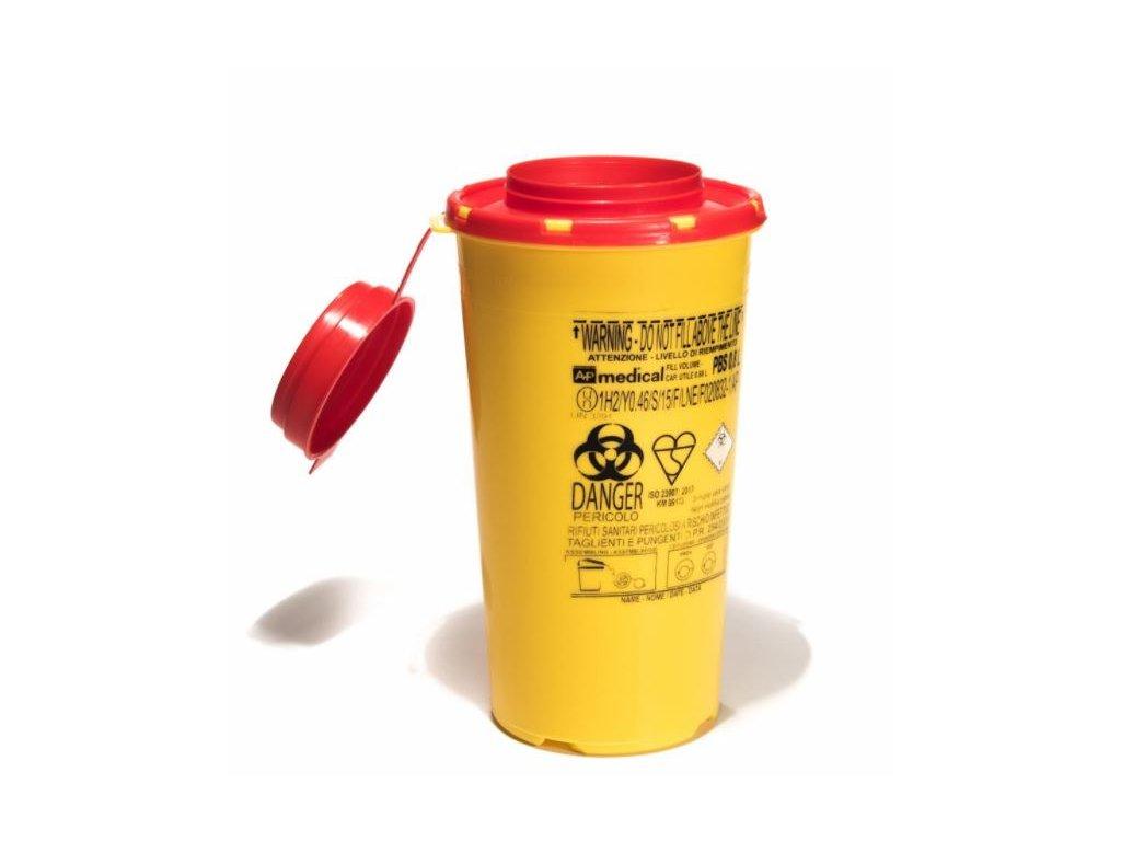 Kontajner na biologický odpad kónické