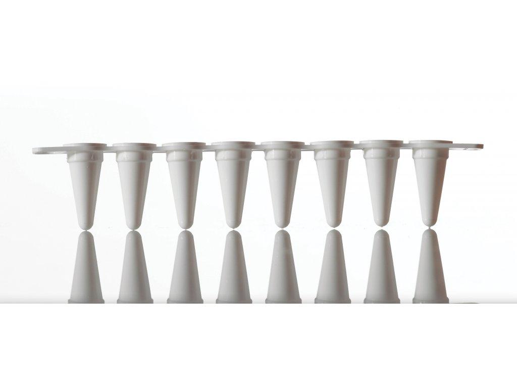 Vari-Strips™, Strips of Low Profile qPCR Tubes, white tubes