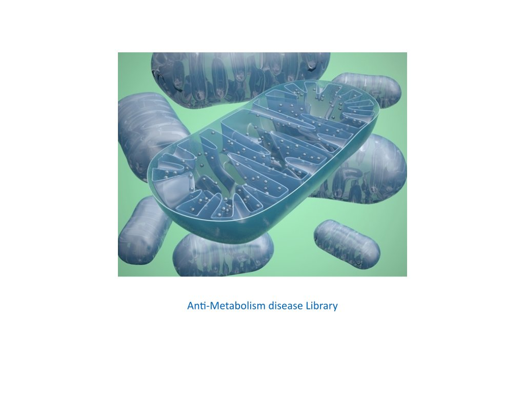 anti metabolism disease library