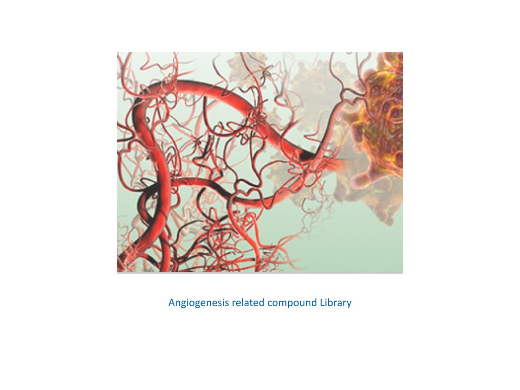 angiogenesis related compound library
