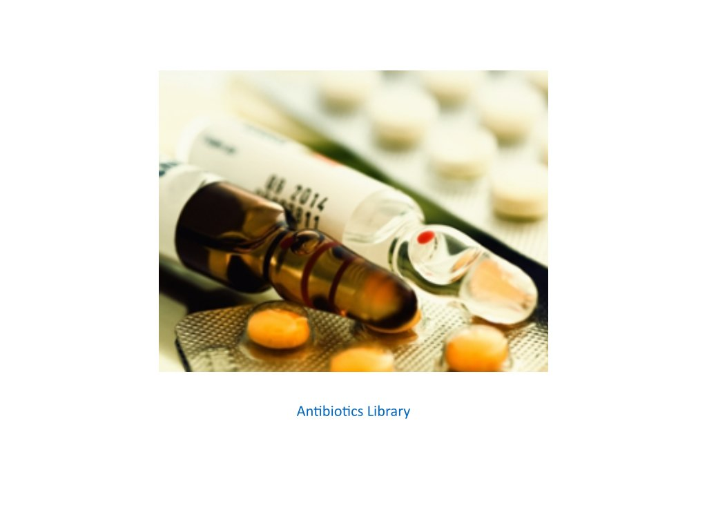 antibiotics library