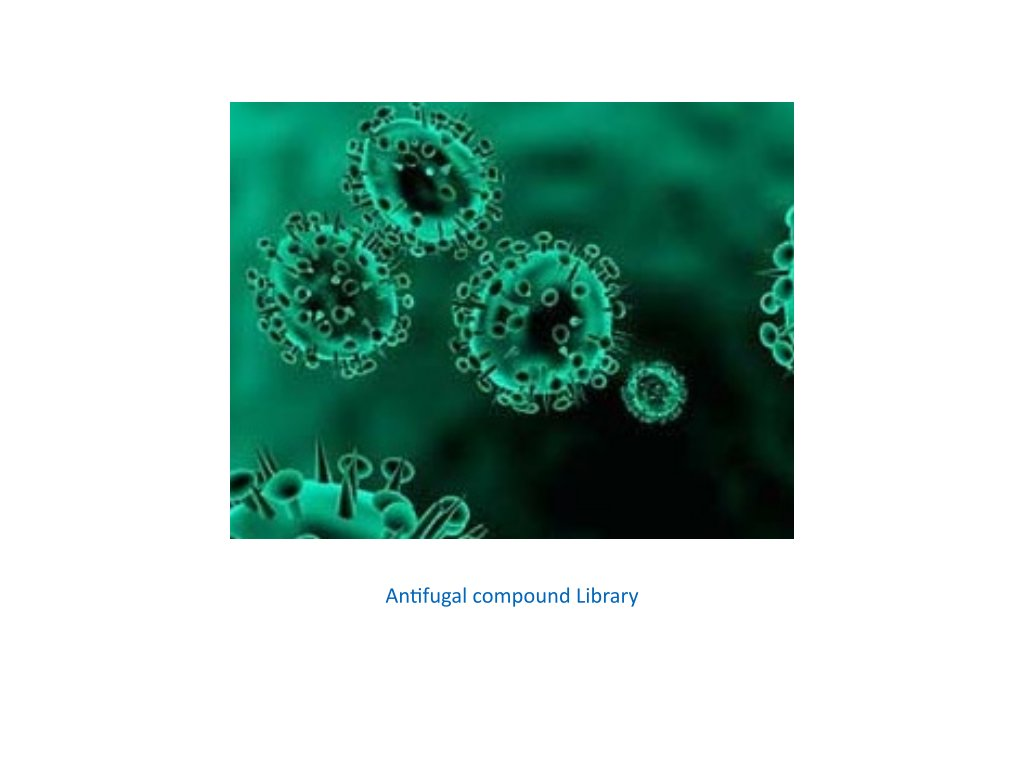 antifugal compound library