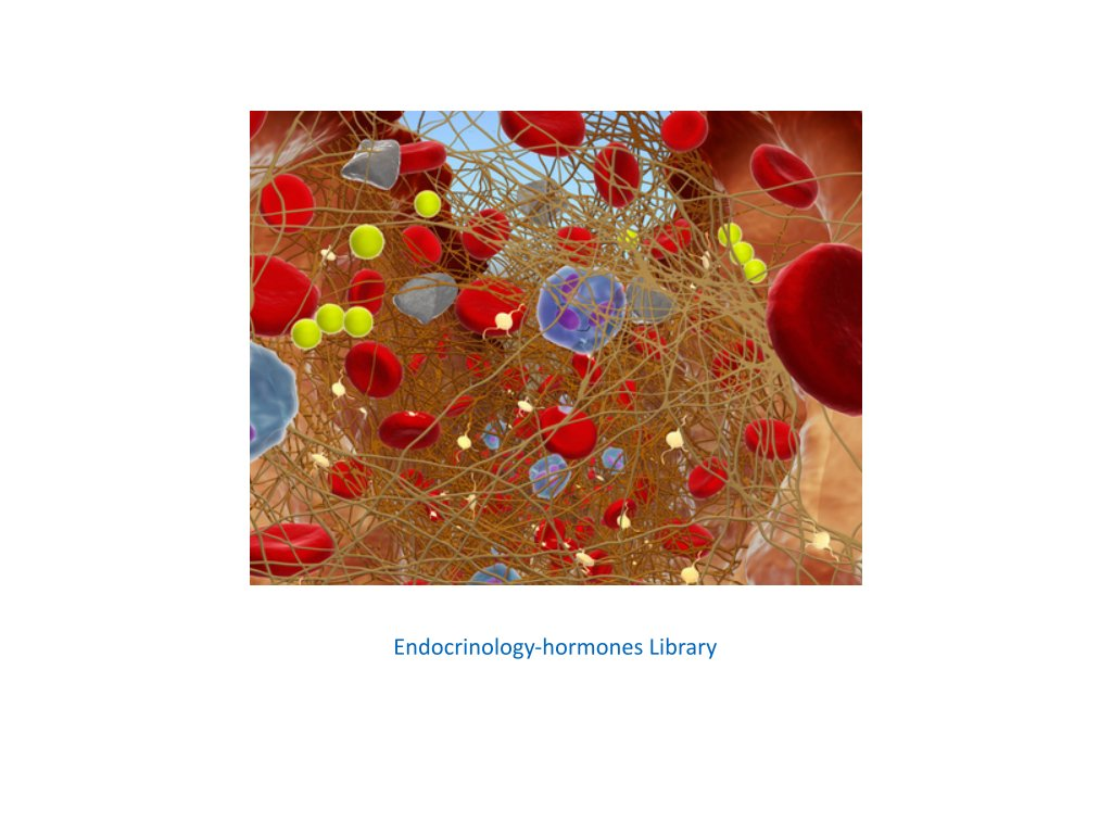endocrinology hormones library