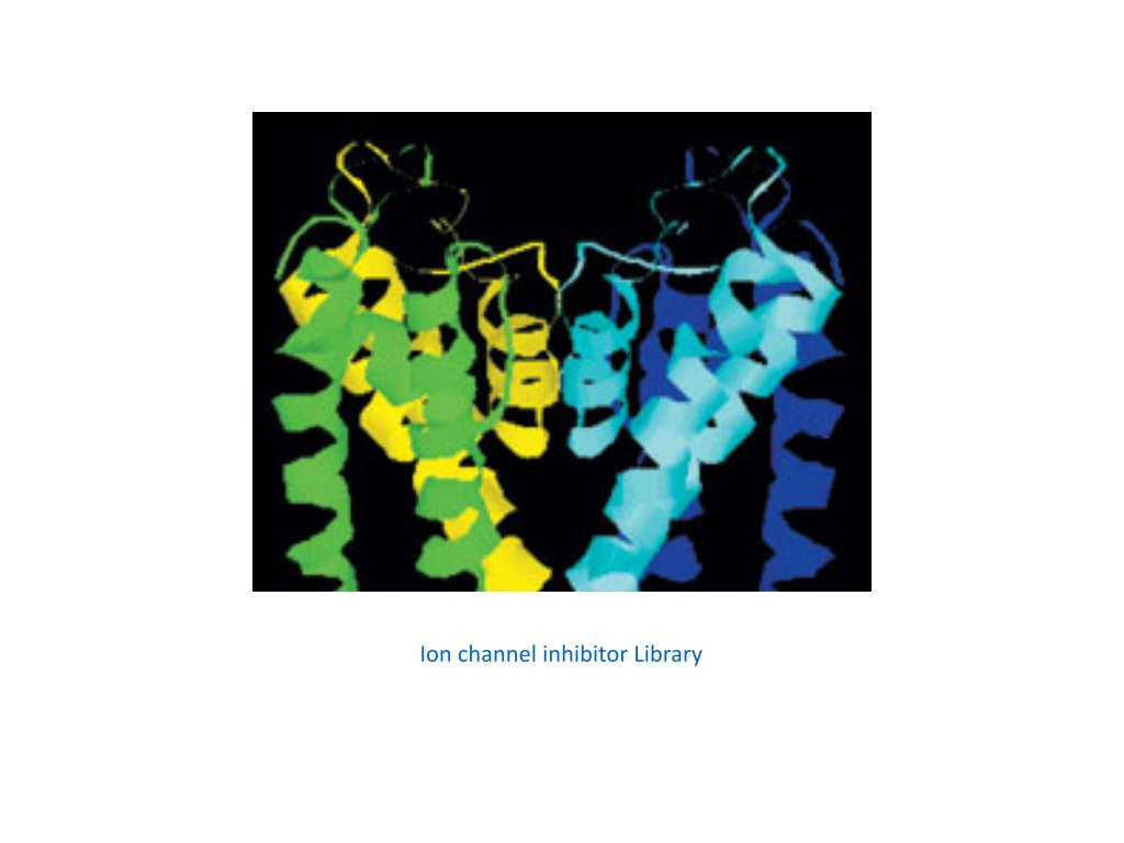 ion channel inhibitor library