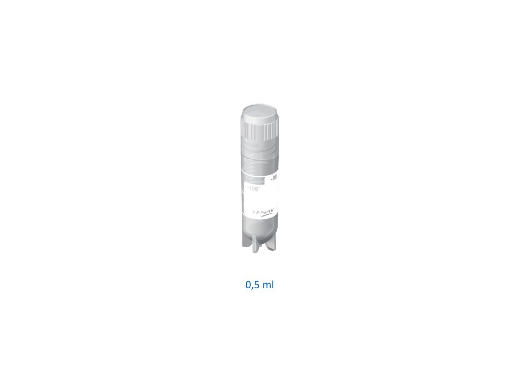 Slim tube sterile 0.5 ml