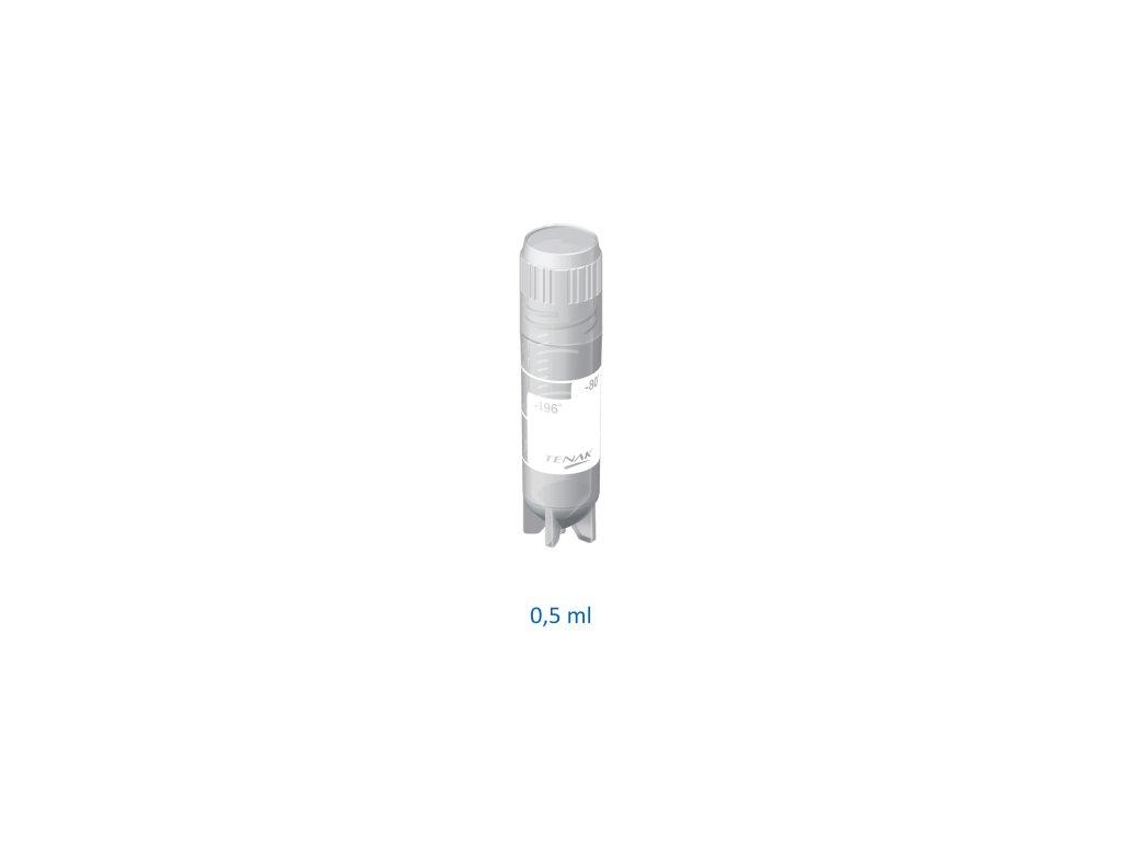 Slim tube sterile 0.5 ml