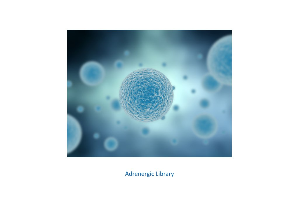 adrenergic library