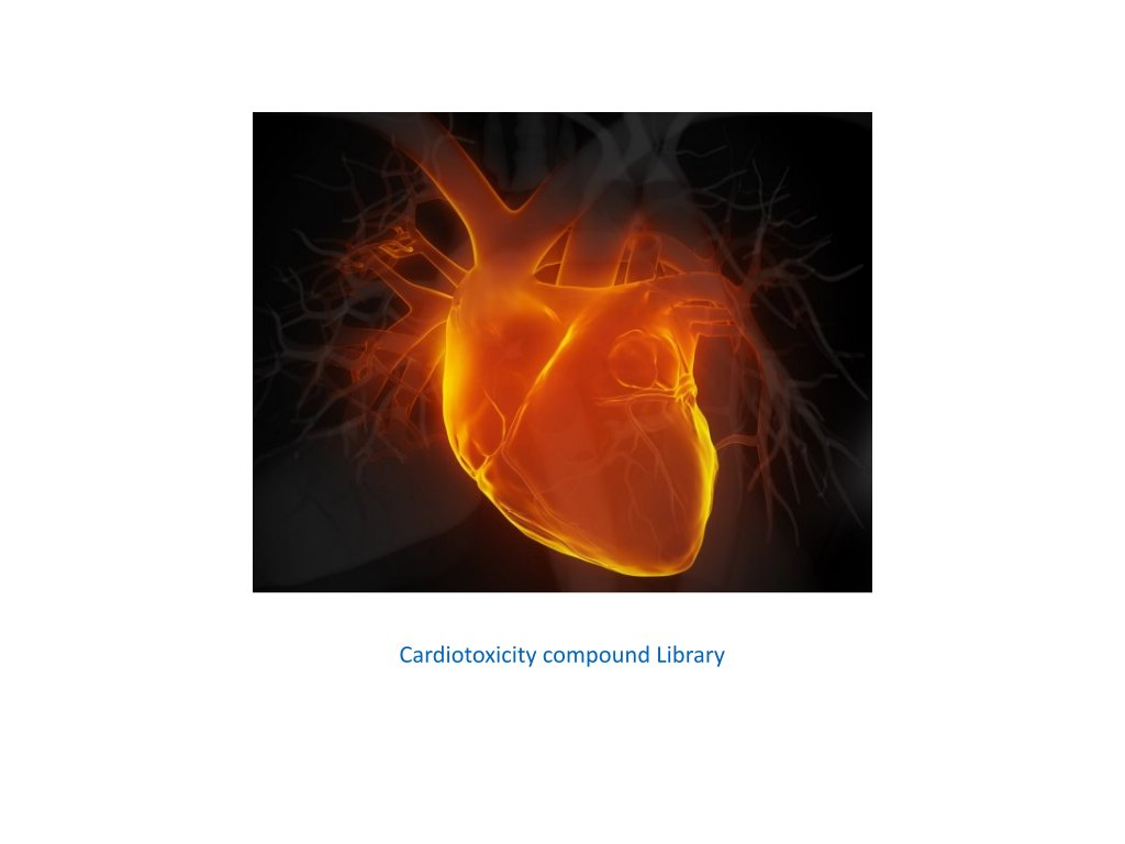 cardiotoxicity compound library