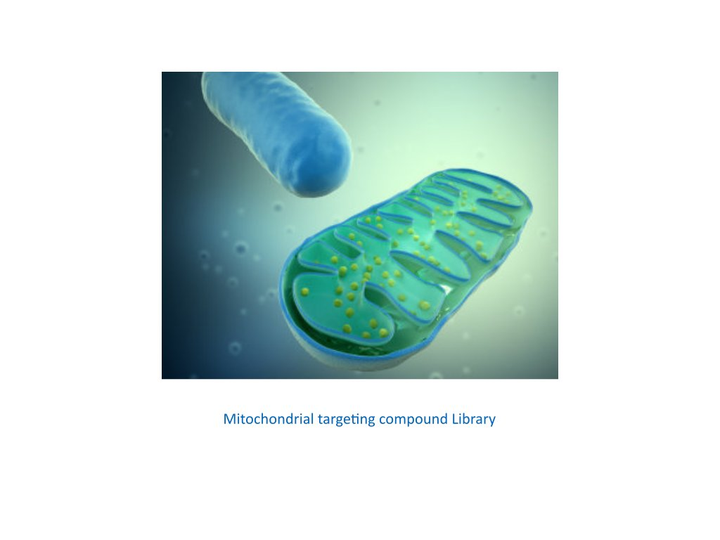 mitochondrial targeting compound library