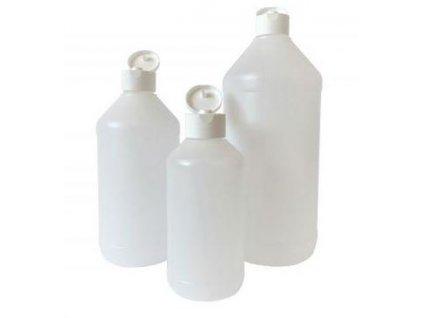Fľaša dávkovacia s odklopným viečkom