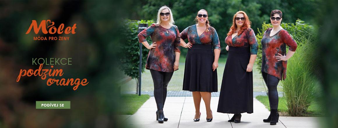 Podzimní oblečení pro plnoštíhlé