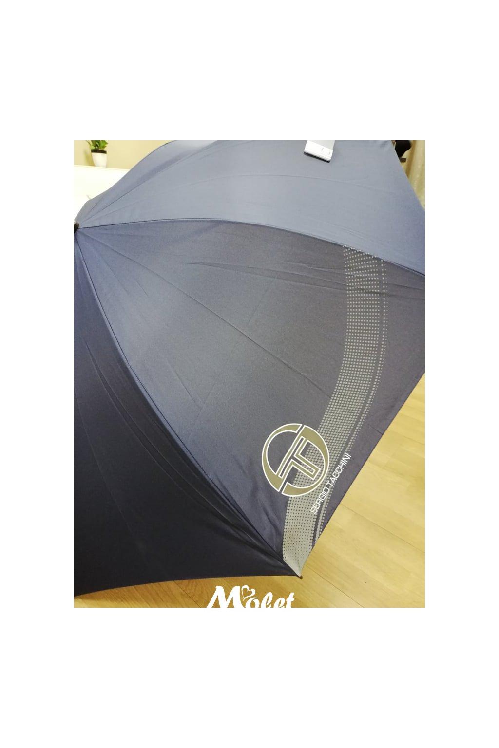 Deštník holový, pánský SERGIO TACCHINI černý