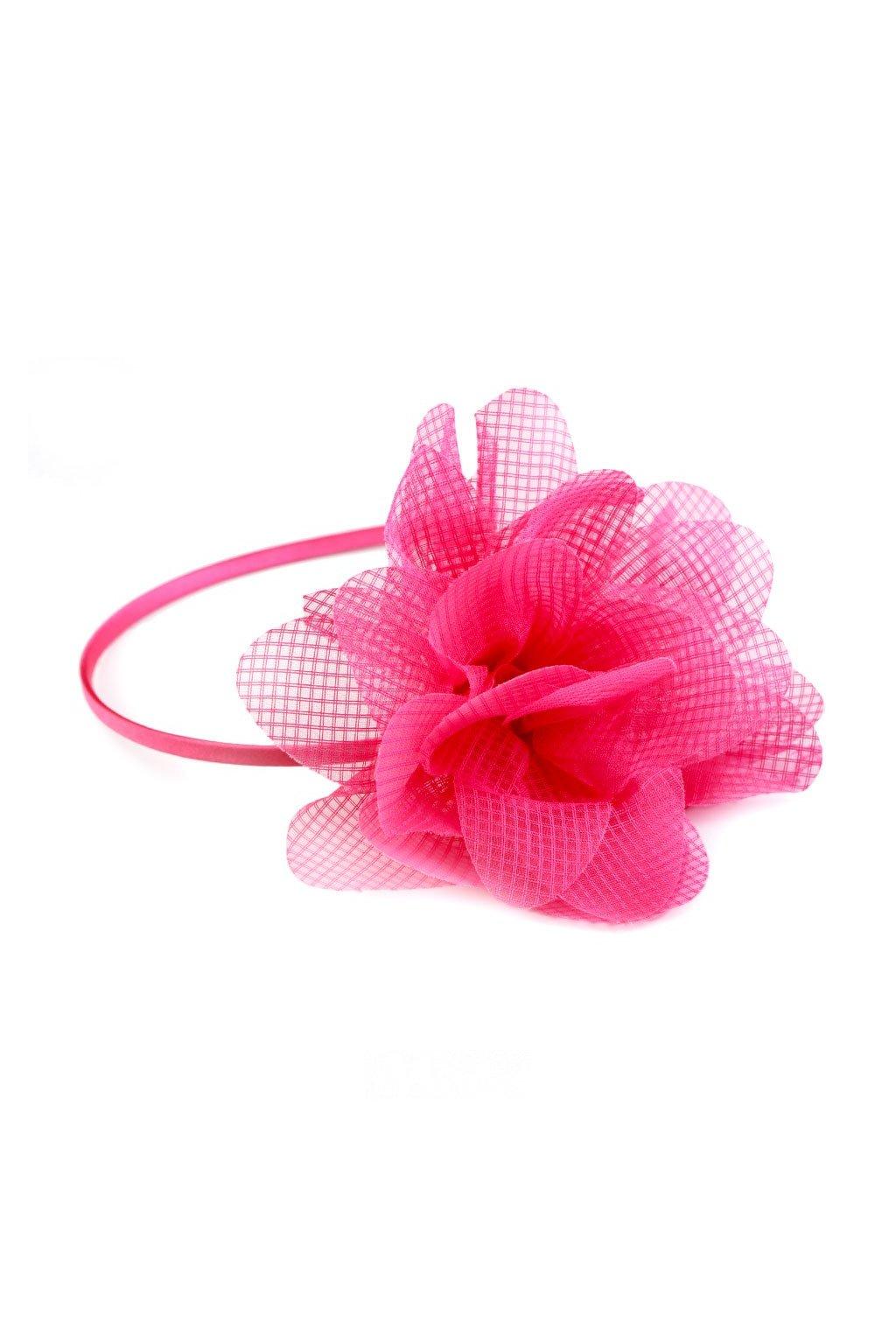 čelenka do vlasů s květem