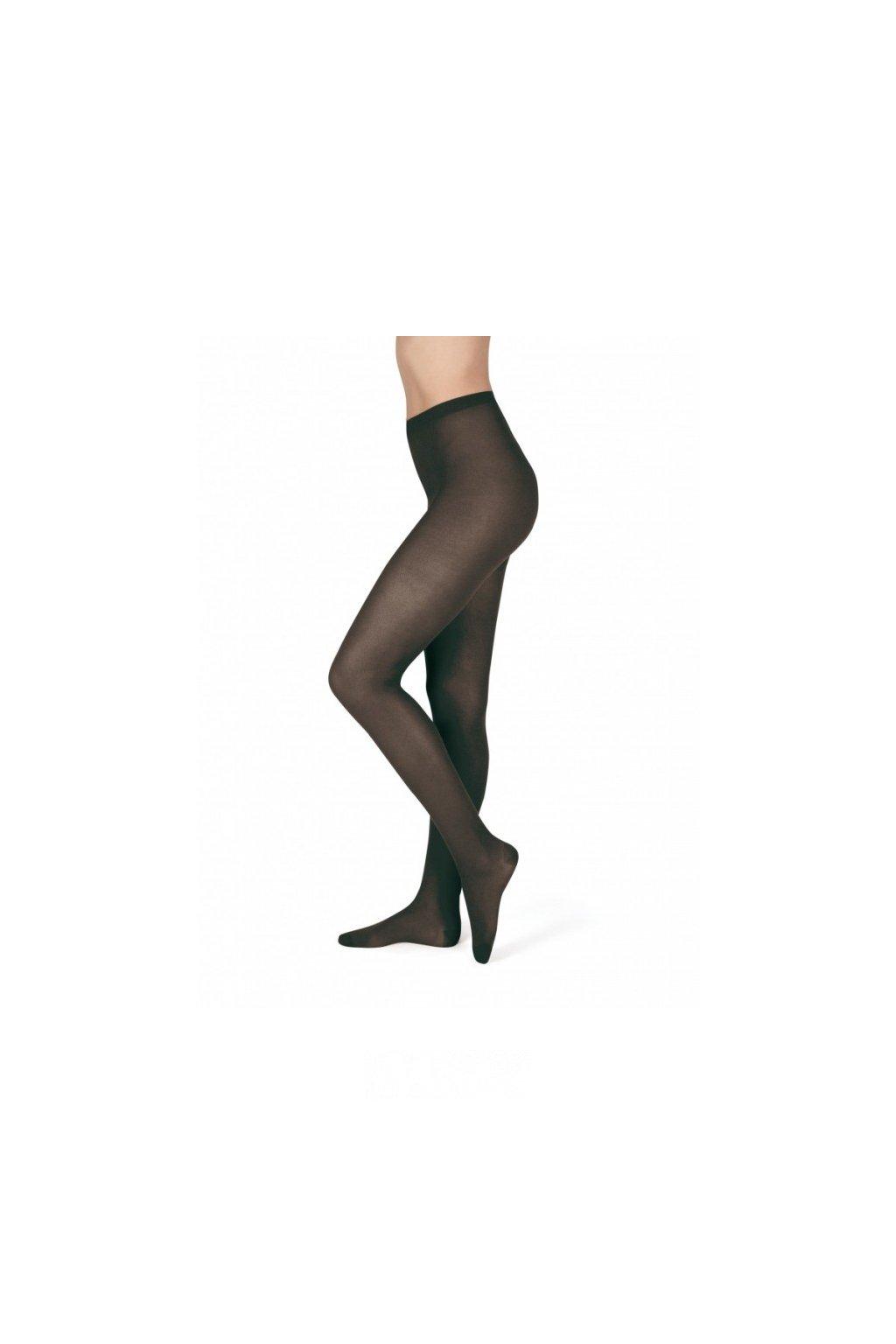Bobina punčochové kalhoty neprůhledné černé