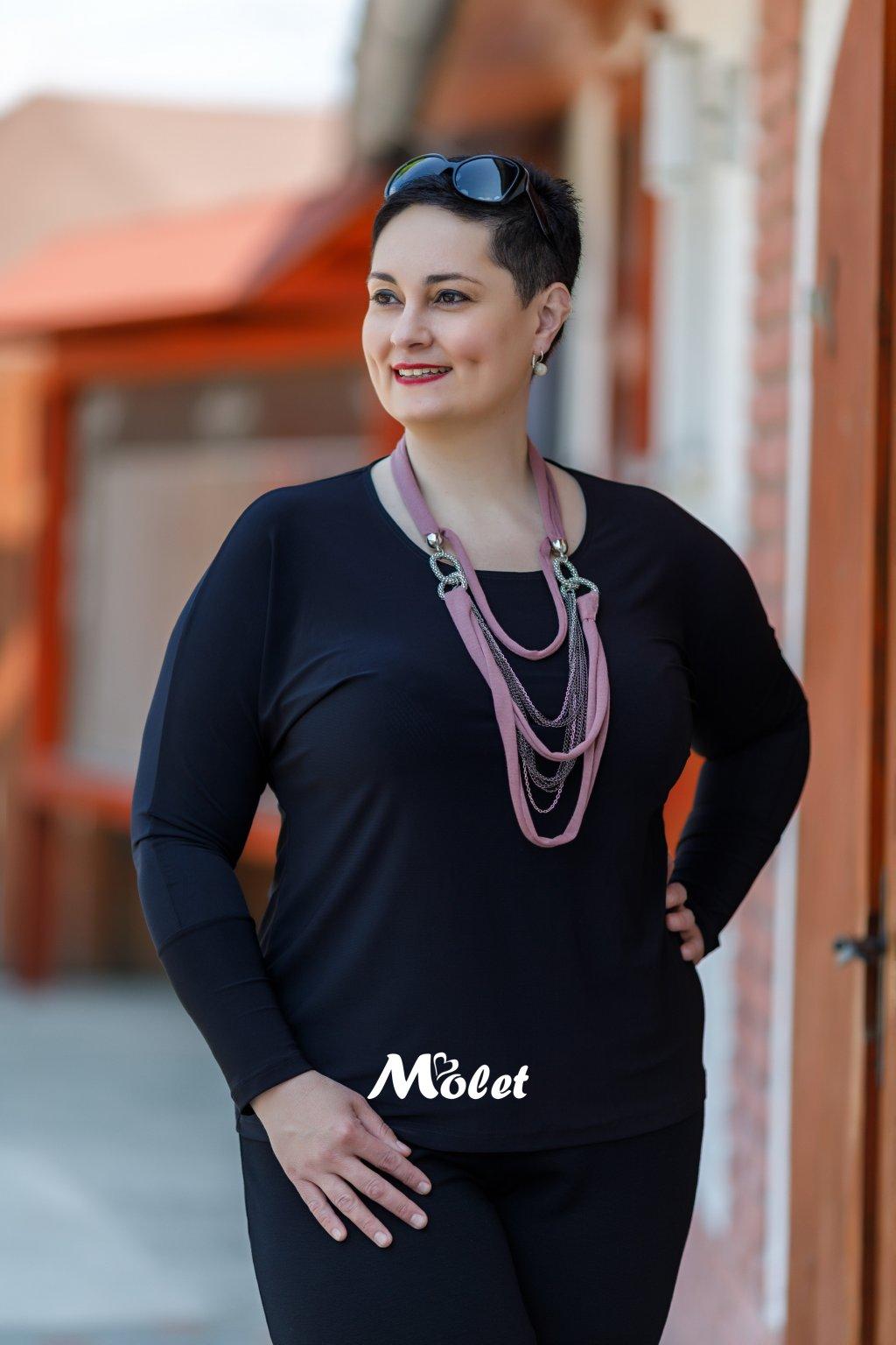Sylvie kimonová halenka černá