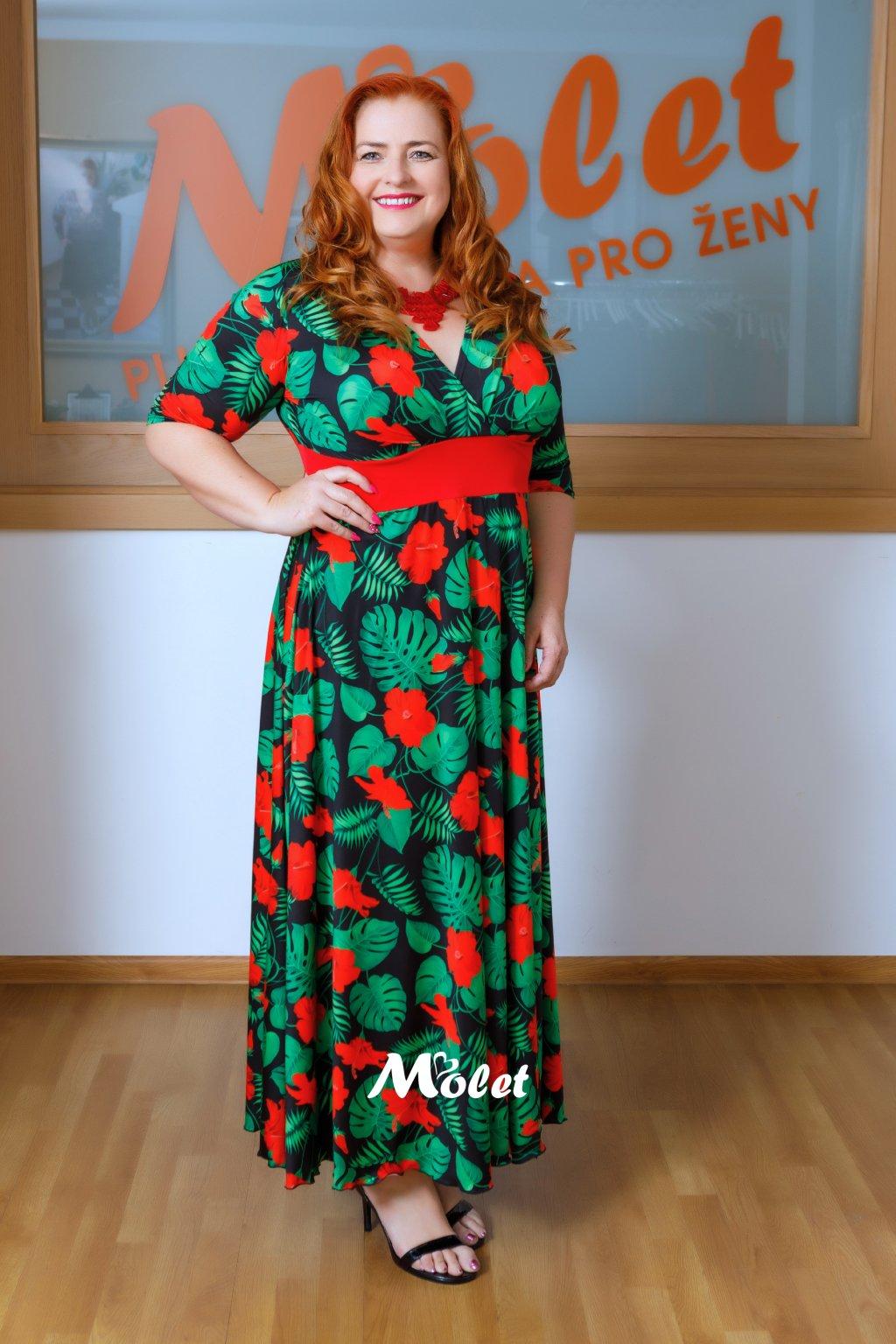 Alanis dlouhé šaty Tropic
