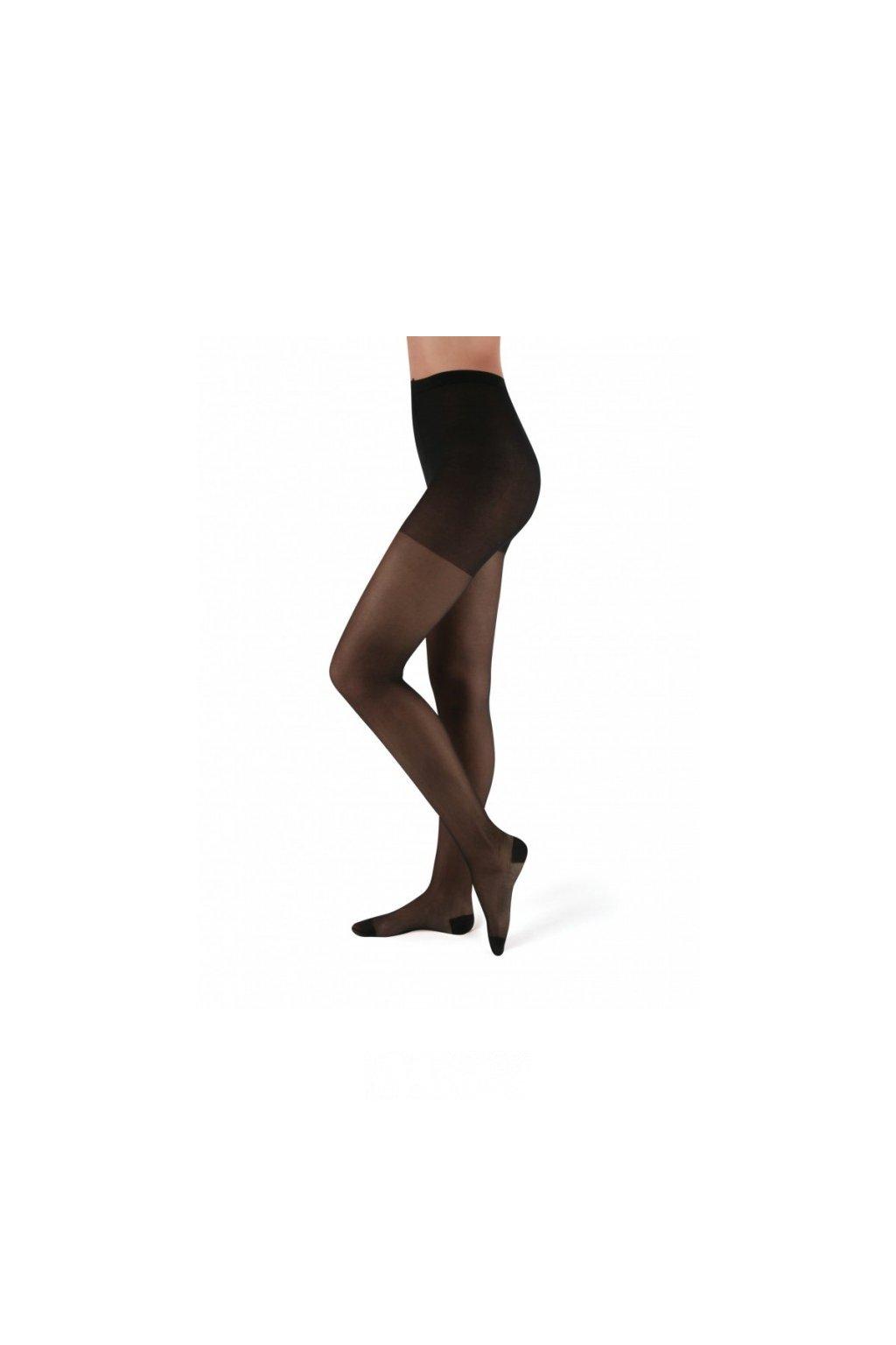 Punčochové kalhoty Maxana černá