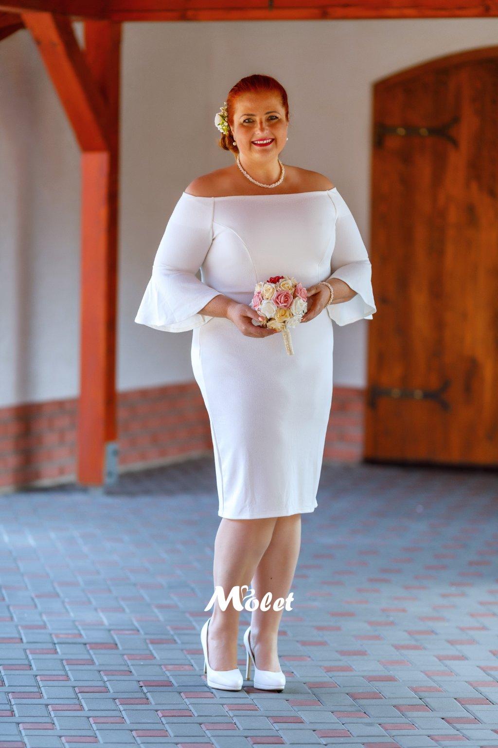 Barbarella pouzdrové svatební šaty