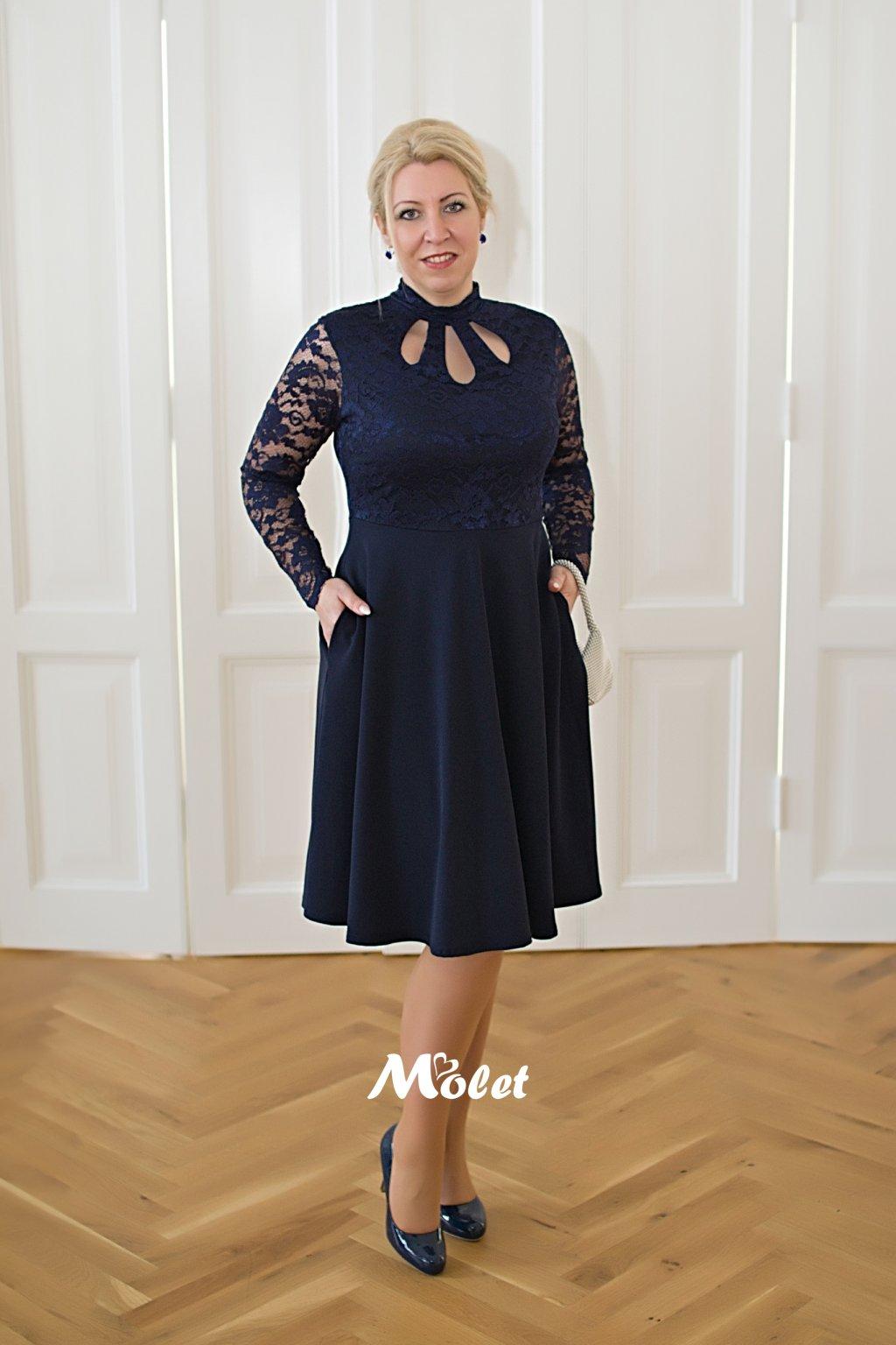 Ripley společenské šaty tmavě modré