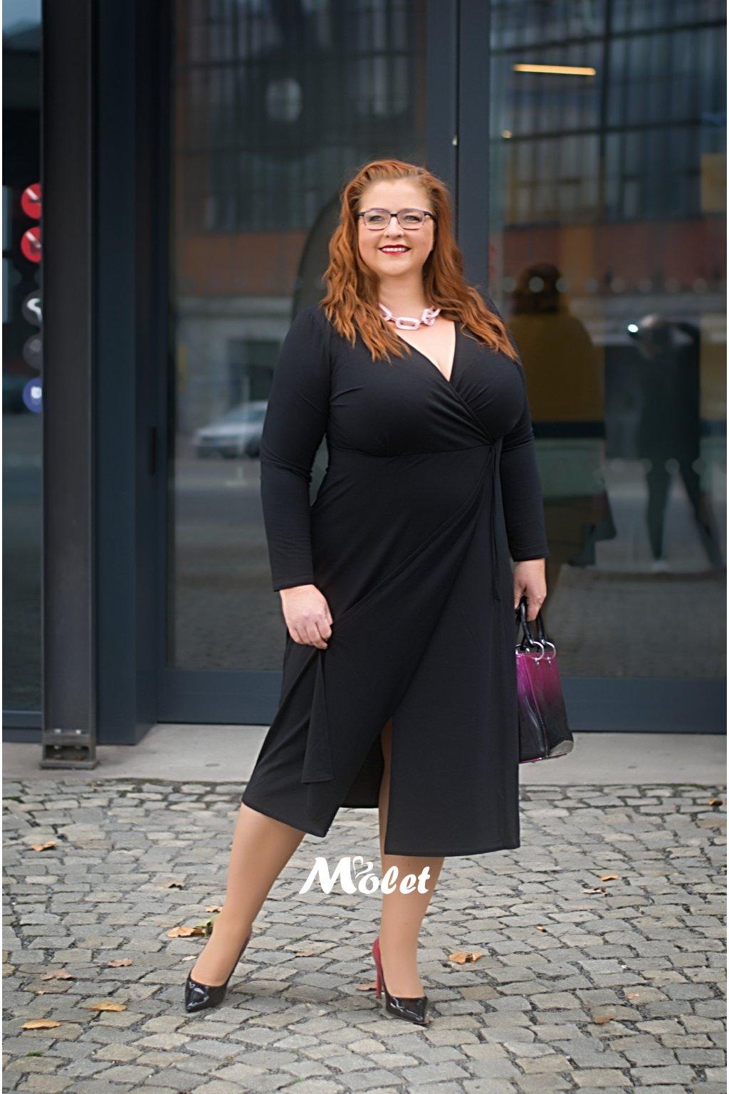 Thought černé šaty