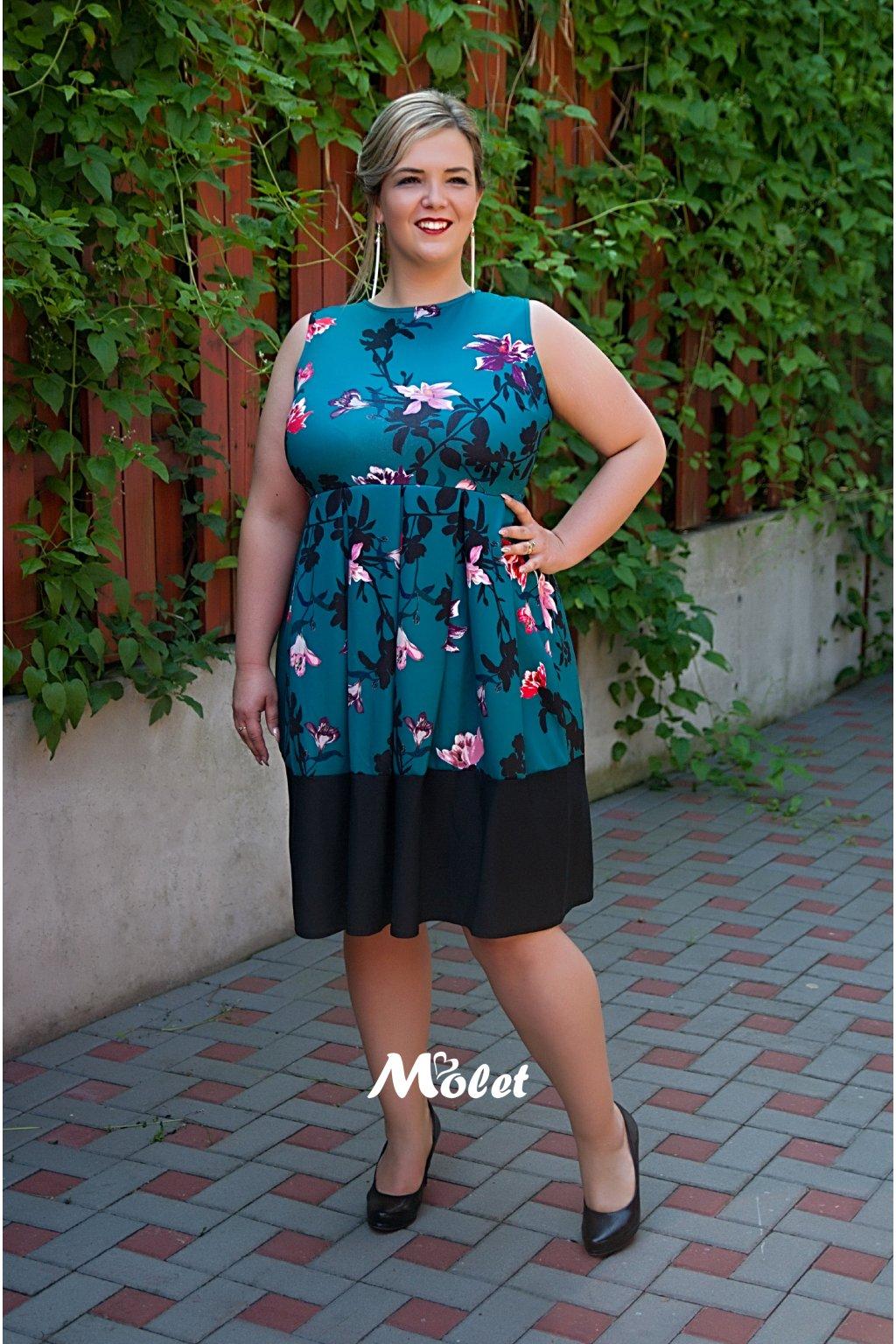 Foil zelené šaty
