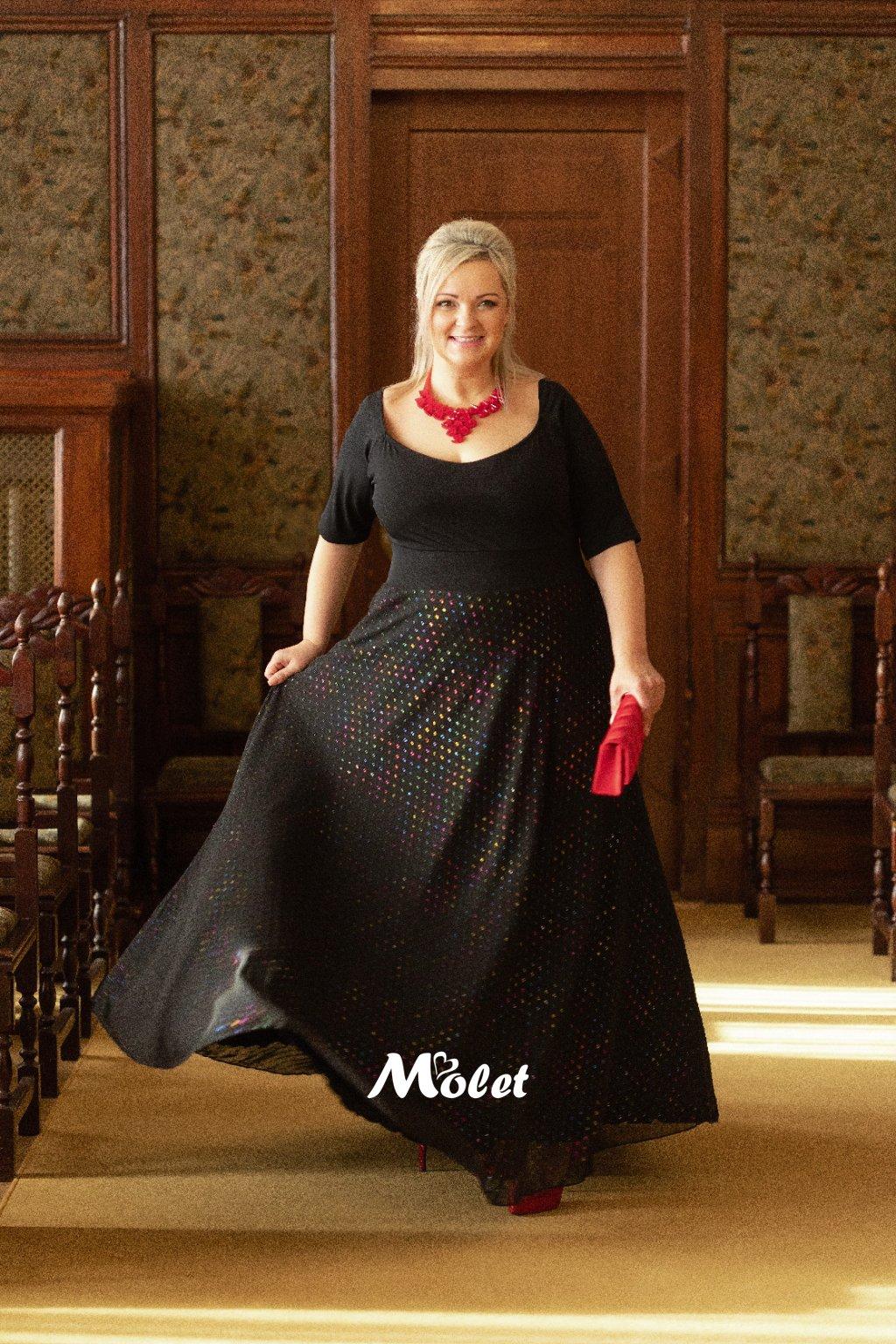 plesové šaty Molet