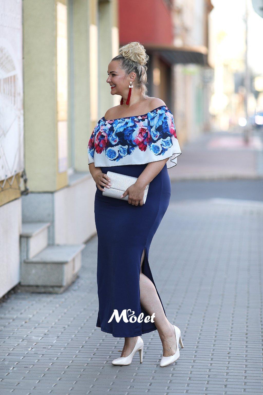 Dlouhé šaty Molet