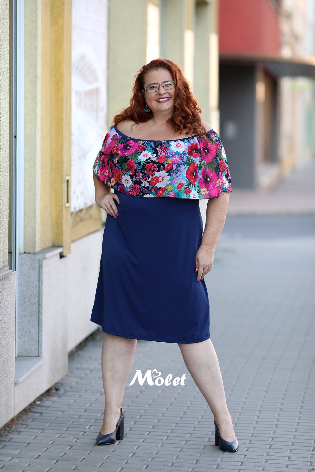 krátké šaty Molet