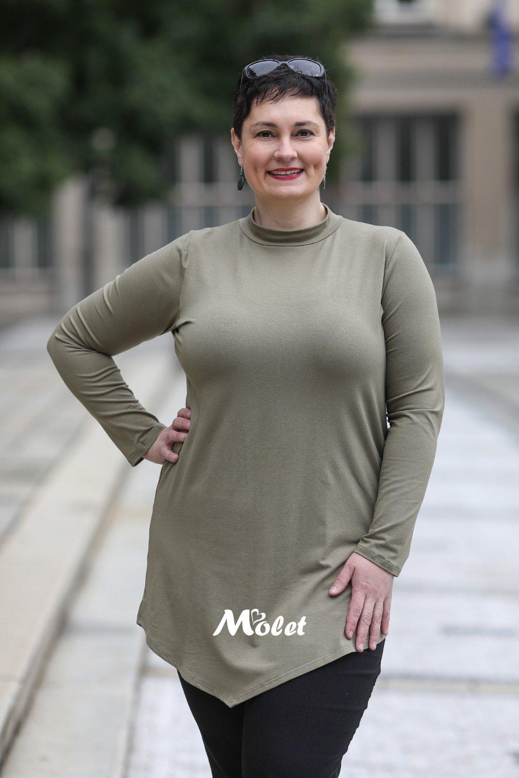 tuniky pro plnoštíhlé Molet.cz