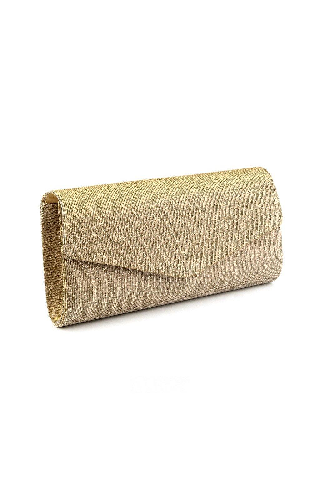 Psaníčko kabelka zlaté s lurexem