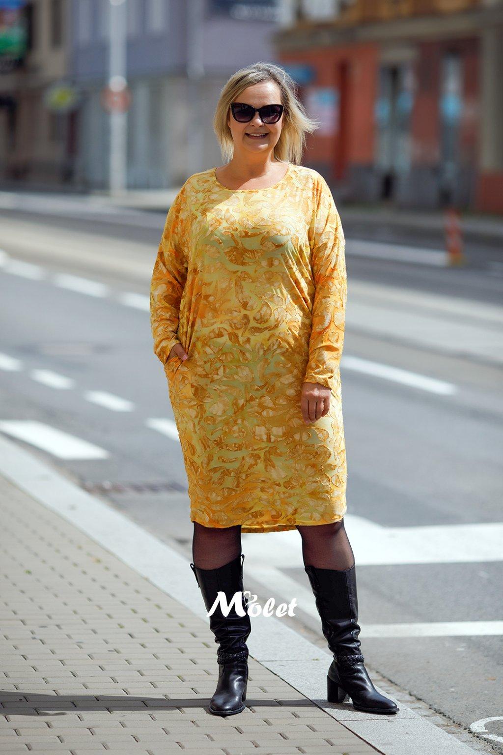 Šaty pro plnoštíhlé Molet.czMGL7502 (1)