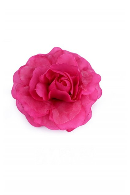 Brož růže růžová