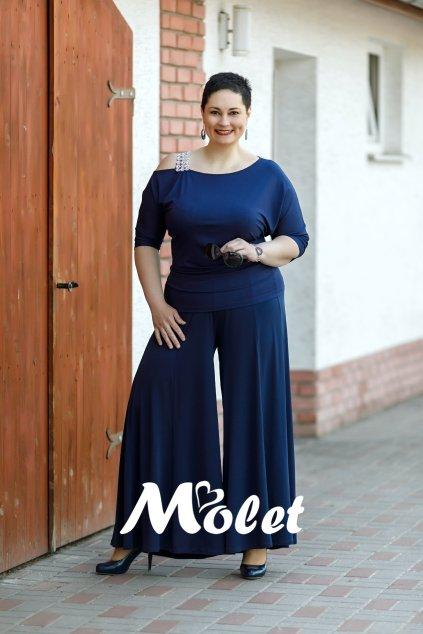Lisa kalhotová sukně modrá