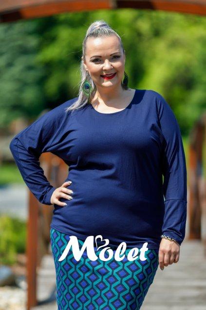 Sylvie kimonová halenka modrá