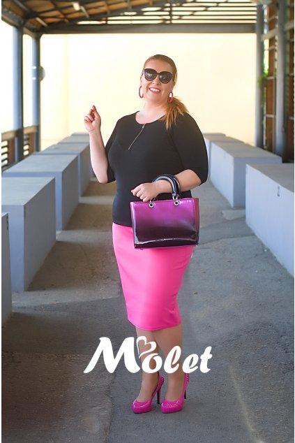 Mac růžová pouzdrová sukně
