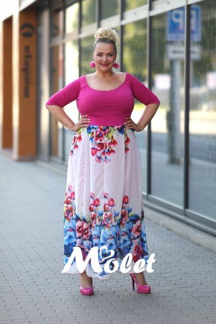 Maxi šaty Molet