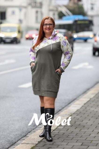 mikiny a šaty pro plnoštíhlé Molet.cz