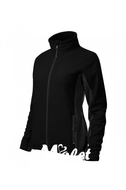 Mikina dámská sportovní na zip černá