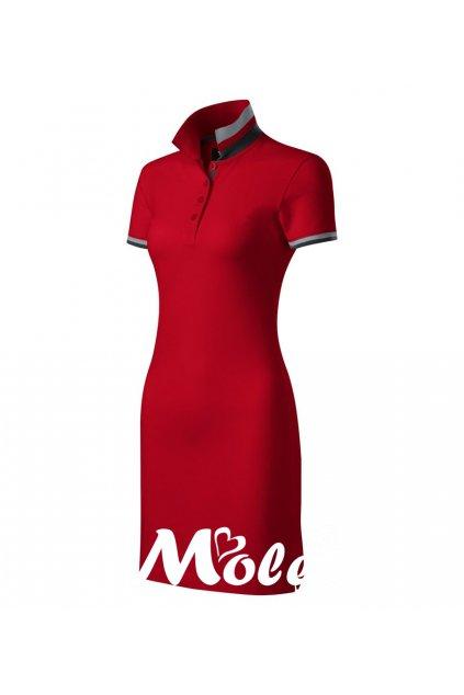 Dámské sportovní šaty červené
